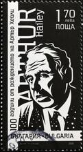 Writer Arthur Hailey On Postage Stamp