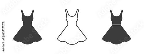 Fotografiet Dress icon