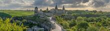 View On Kamianets Podilskyi Castle, Ukraine