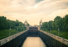 The Moscow Canal (the Moskva-Volga Canal) The Longest And Importantly Russian Waterway North To South 1932 - 1937