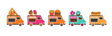 Food Truck Fair, Night Market, Summer Fest, Food And Music Street Fair, Family Festival Poster And Banner Colorful Design