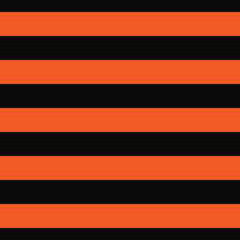 Striped Black Orange Seamless Pattern Background Freddy Krueger Style Abstract Vintage Modern Cartoon Children's Design Fashion Print Clothes Apparel Greeting Invitation Card Cover Flyer Poster Banner