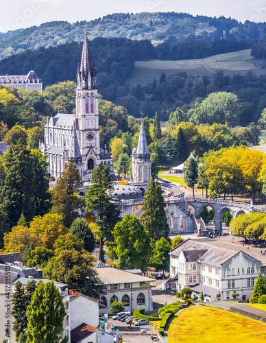 Photo Basilique de Lourdes, France