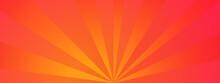 Sunlight Abstract Background. Bright Yellow Color Colorful Burst Background. Vector Illustration. Sun Beam Ray Sunburst Pattern Background. Retro Bright Backdrop. Starburst Wallpaper