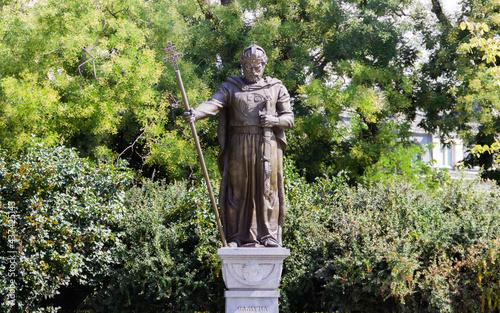 Statue of King Samuel in Sofia, Bulgaria at the day Fototapeta