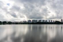 View Of Lakeside From Jurong Lake, Singapore