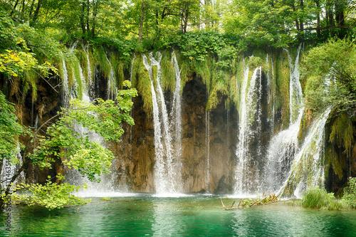 Papel de parede Kroatien Plitvicer Seen