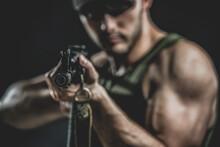 Rifle Or Automatic Gun