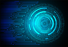 Cyber Circuit Future Technology Background