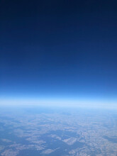 Aerial View Of Sky Over Earth