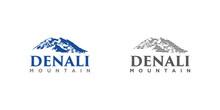 Denali Mountain Design Illustration Vector Eps Format , Suitable For Your Design Needs, Logo, Illustration, Animation, Etc.