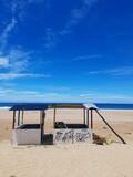 Fototapeta Fototapety z morzem do Twojej sypialni - Tropikalny krajobraz, plaża i ocean.