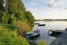 Olsztyn. Jezioro Ukiel. Polska - Mazury - Warmia.