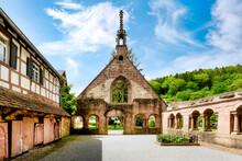 Bad Herrenalb, Protestant Monastery Church And Monastery Ruins