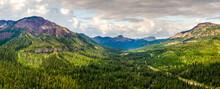 Beartooth Highway Scenic Drive - Near Cooke City, Montana - Colter Pass  Absaroka Range