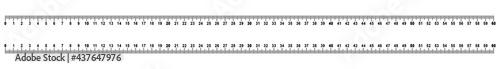 Fotografie, Obraz rsmc1 RulerScaleMetricCentimeter rsmc - ruler 0 - 60 cm