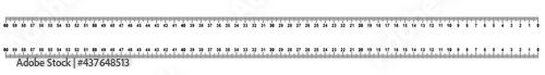 Fotografie, Obraz rsmc2 RulerScaleMetricCentimeter rsmc - ruler 60 - 0 cm