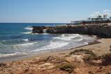 Fototapeta Fototapety z morzem do Twojej sypialni - Kamienisty brzeg Krety, Grecja