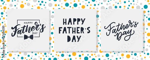 Valokuva Happy father's day