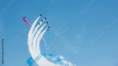 Obraz na płótnie Royal Air Force Red Arrows