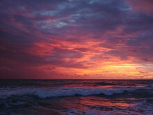 A Sunrise On The Atlantic Ocean, Florida