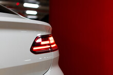 Tail Lights Of A Car