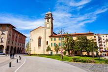 Piazza Vittorio Emanuele In Pisa