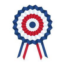 French Flag Medal