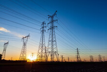 The Pylon In The Evening
