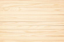 Light-colored Wall Panel Boards. Beige Wood Texture As Background.