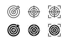 Target Icon Set. Target Symbol