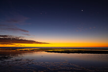 Stars At Sunset In Coral Bay, Western Australia