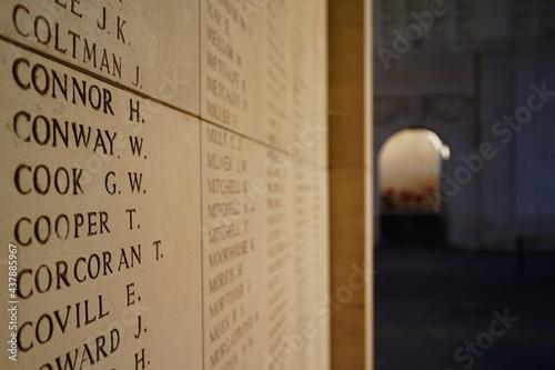 Fotografia Ieper Menenpoort Ypres worl dwar monument Europe Belgium last post