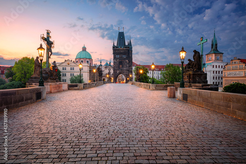 Fotografiet Prague, Charles Bridge