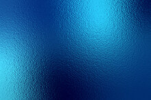 Blue Gradient Background. Light Blue Color Texture. Bright Abstract Pattern. Neon Metallic Background. Metal Effect Foil. Backdrop For Design Banner, Wallpaper, Poster, Template, Card, Prints. Vector