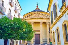 The Portico Of Santa Victoria Church, Cordoba, Spain
