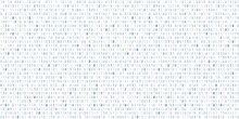 Binary Code Cyber Texture. Vector Background.