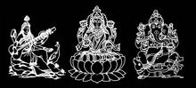 A Beautiful Dark Art Illustrations Of Indian Gods And Goddesses