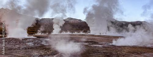 Fotografiet Tatio geysers