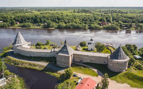 Fotografia, Obraz Old Ladoga fortress