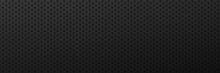 Metallic Scratched Black Background.