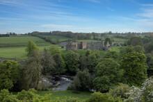The Ruins Of Egglestone Abbey Near Castle Barnard In County Durham, UK