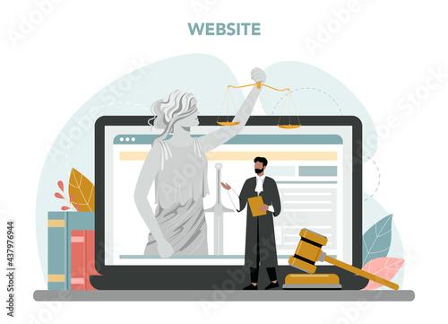 Stampa su Tela Judge online service or platform