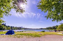 View Of Deer Lake, Burnaby