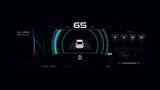 EV Electric vehicle Car dash board PHEV Concept 002