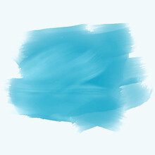Turquoise Watercolor Brush Stroke Background