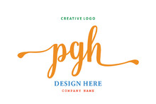 PGH Lettering Logo Is Simple, Easy To Understand And Authoritative
