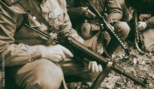 Fotografiet Soviet weapons of the second world war