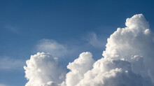Mighty Cloud Mountains Of A Cumulus Thundercloud
