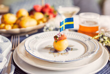 Food For Traditional Midsummer Feast